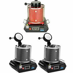 1/3 KG Gold Digital Melting Machine Furnace Kiln 110V Refini
