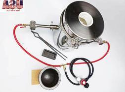 10 KG Gas Melting Furnace Double Burner  Casting Tool