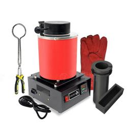 3KG Automatic Electric Metal Melting Furnace Forge Gold Copp