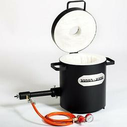FB2Mb–10KG GAS METAL MELTING FURNACE Propane Forge Copper