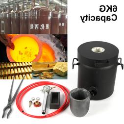 Propane Metal Casting Furnace/ Foundry Forge Kiln 4kg Meltin